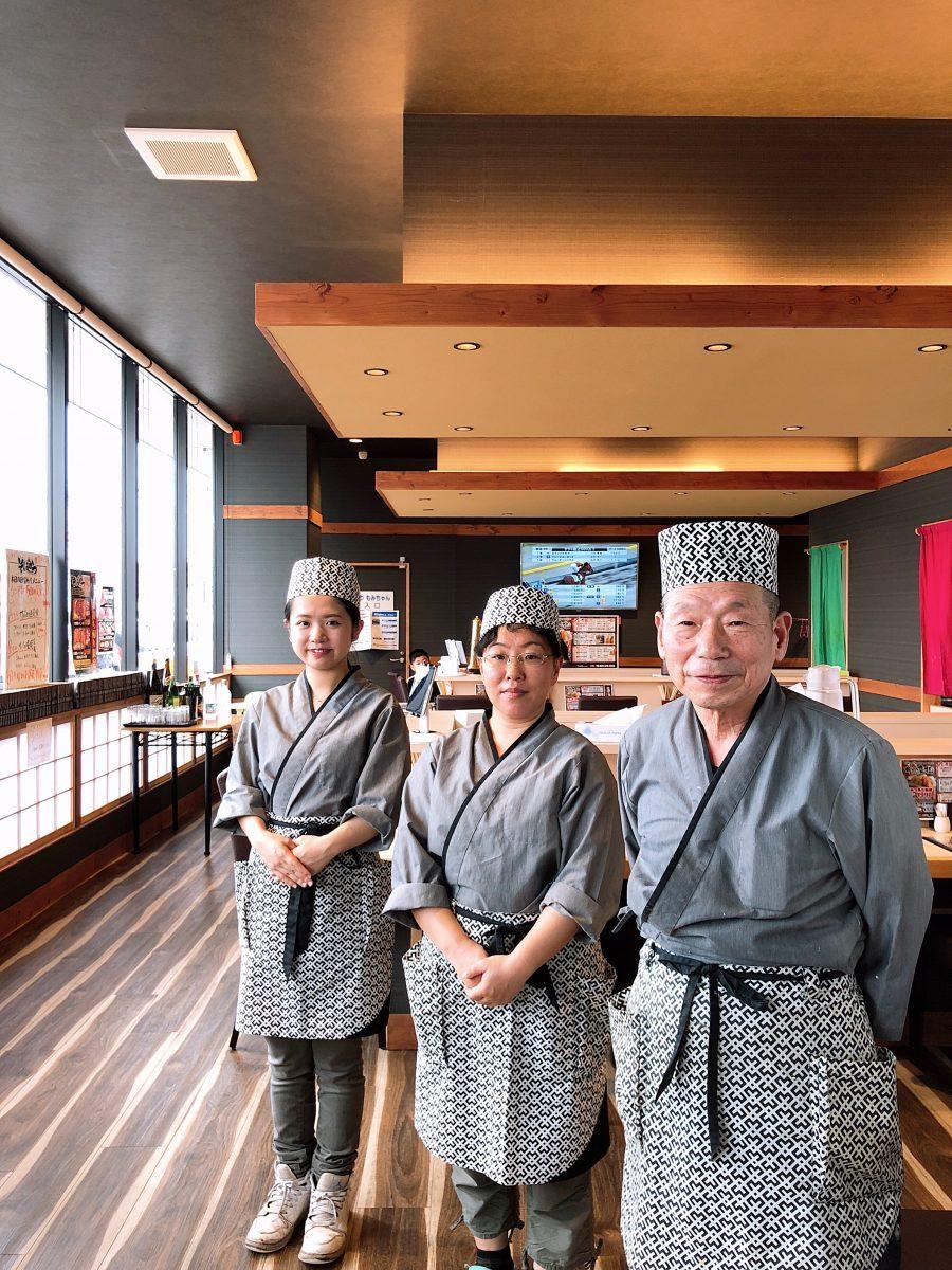 日本の伝統スタイルユニフォームとこだわりの食!